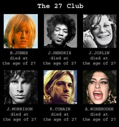 El club de los 27
