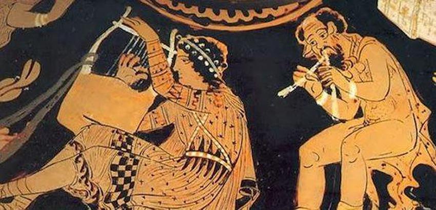 Acorde extendido asociado a cada modo griego