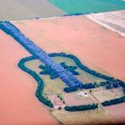 Guitarra desde el aire