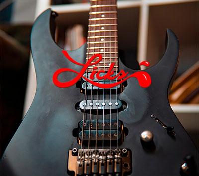 Licks para guitarra